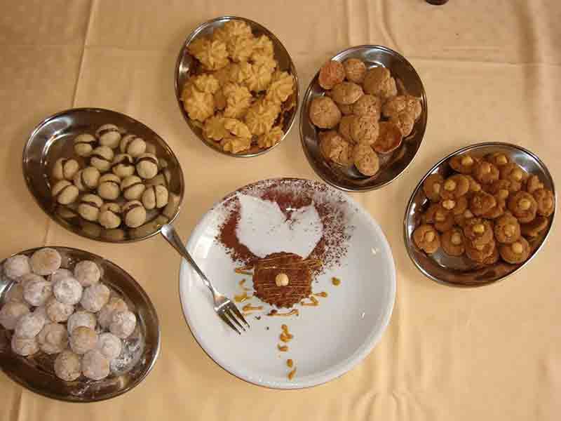 Dry Pastries Typical Piedmontese