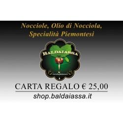Carta Regalo Baldaiassa € 25,00