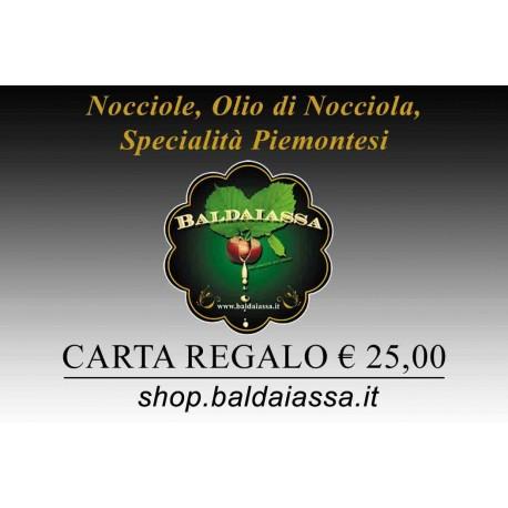 Carte Cadeaux Baldaiassa € 25,00