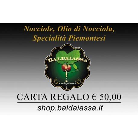 Carte Cadeaux Baldaiassa € 50,00