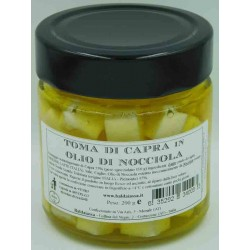 Toma di Capra in Olio di Nocciola - Vaso 210 g