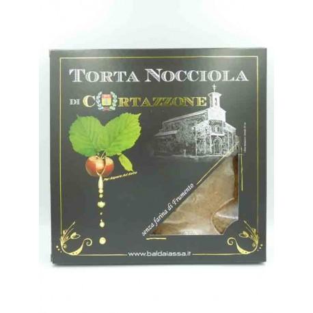 Haselnüsstorte aus Cortazzone ohne Weizenmehl - Geschenkverpackung