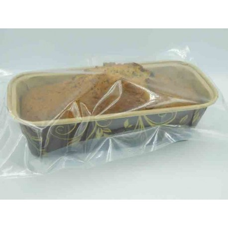 Rührkuchen mit Haselnüssen und Schokolade 300 g