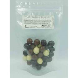 Dragèes Haselnuss und Schokolade - Gemischt Packung 150 g