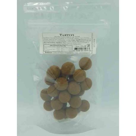 Tartufi di Cioccolato Extrafondente confezione 150 g