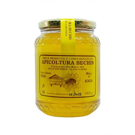 Miele di Acacia Italiano - Vaso 1 Kg