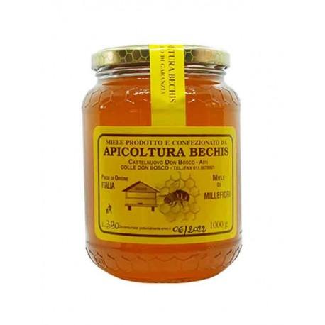 Miel de Fleurs Sauvages Italien - Pot 1 Kg